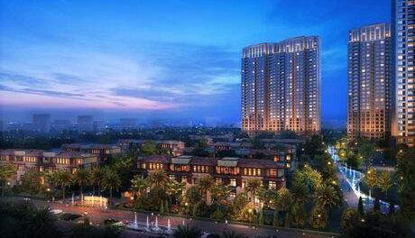 重庆中交绿城中央公园项目一二期工程